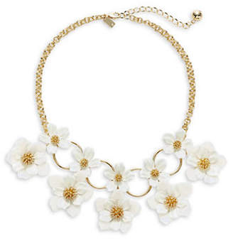 Kate Spade Floral Mosaic Statement Necklace