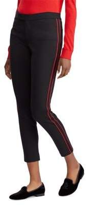 Lauren Ralph Lauren Striped Ponte Skinny Pants