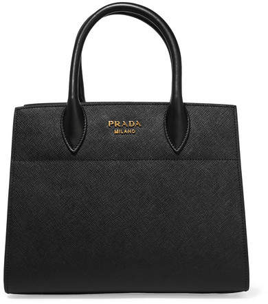 prada Prada - Driade Textured-leather Tote - Black
