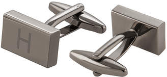 Cathy's Concepts Cathys Concepts Personalized Gunmetal Rectangle Cufflinks