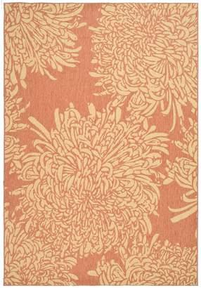 "Martha Stewart Chrysanthemum 6'7"" x 9'6"" Rug"
