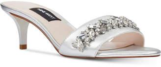Nine West Lelon Jeweled Sandals Women's Shoes
