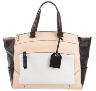Reed Krakoff Leather Uniform Tote Tan Leather Uniform Tote