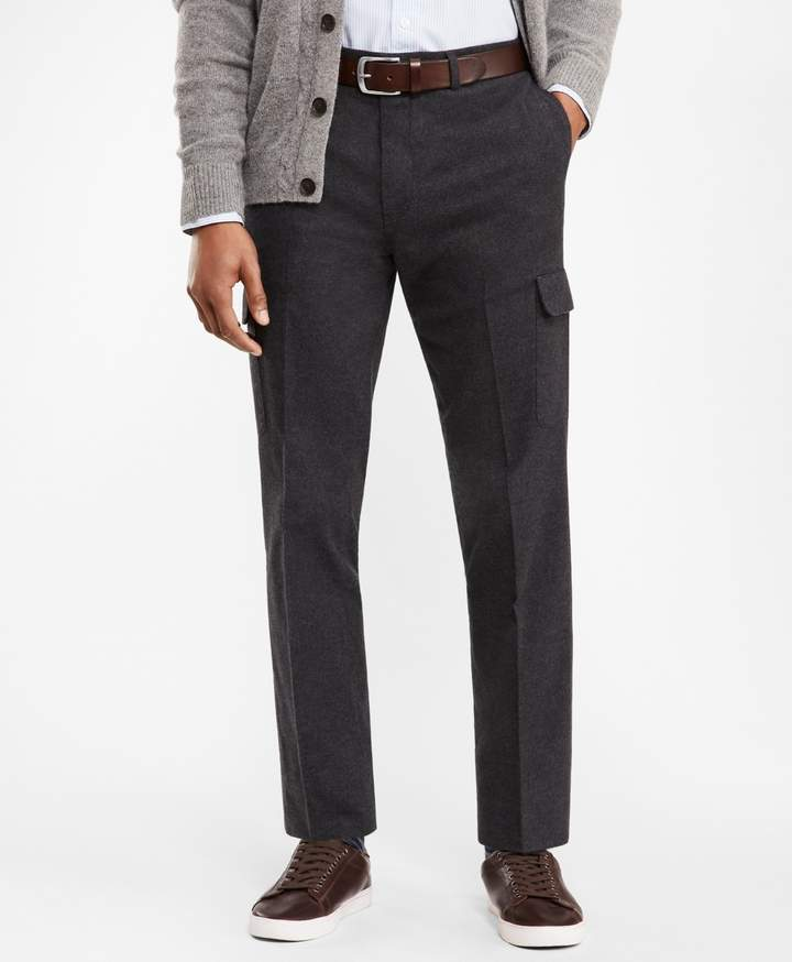 Brooks Brothers Cotton Twill Cargo Trousers