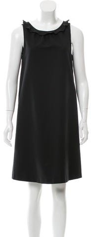 Paule KaPaule Ka Shift Ruffle-Trimmed Dress w/ Tags