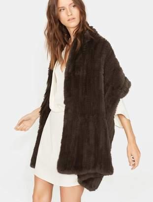 Halston Fur Scarf