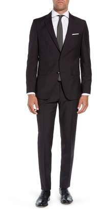 BOSS Novan/Ben Trim Fit Solid Wool & Mohair Suit
