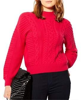 Karen Millen Chunky Cable Knit Jumper