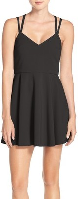 Women's French Connection Whisper Light Fit & Flare Dress $158 thestylecure.com