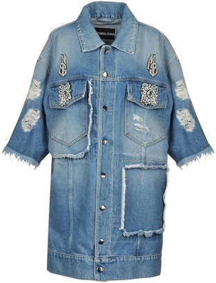 MARCO BOLOGNA Denim outerwear - Item 42684861ON