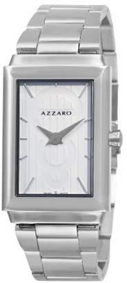 Azzaro Men's AZ2061.12AM.000 Legand Rectangular Dial Bracelet Watch