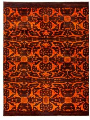 """Solo Rugs Vibrance Overdyed Area Rug, 9'1"""" x 12'"""