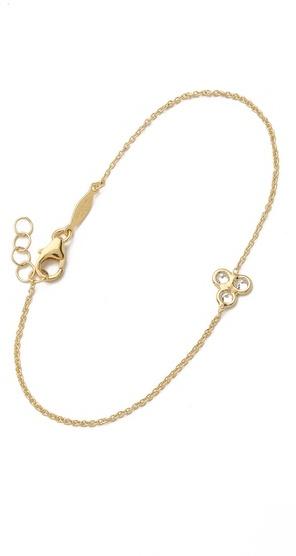 Jacquie Aiche Trinity Cluster Bracelet