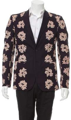 Calvin Klein Collection Floral Printed Blazer