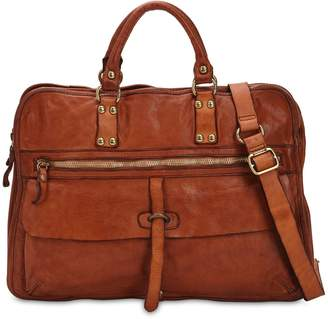 Campomaggi Studded Leather Work Bag