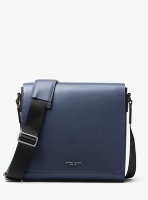 bcbe73e43501 Michael Kors Harrison Medium Leather Messenger Bag