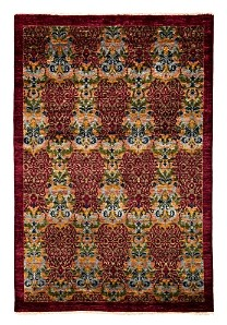 Suzani Collection Oriental Rug, 5'1 x 8'