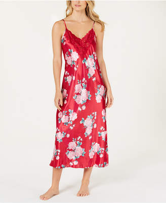 Thalia Sodi Flower-Print Woven Nightgown, Created for Macy's