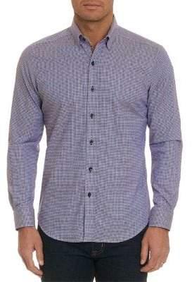 Robert Graham Houndstooth Button-Down Shirt