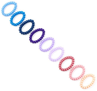 Berry Jewelry Coil Hair Ties - Pack of 9 $14.97 thestylecure.com