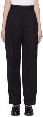 3.1 Phillip Lim Buckled back virgin wool suiting pants