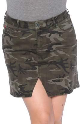 SLINK Jeans Camo Print Skirt