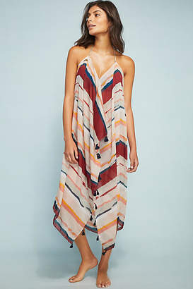 Pool' Pool to Party Wakaya Tasseled Cover-Up Dress
