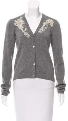 Max Mara Weekend Embellished Knit Cardigan