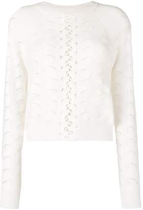 See by Chloe wave knitting sweater