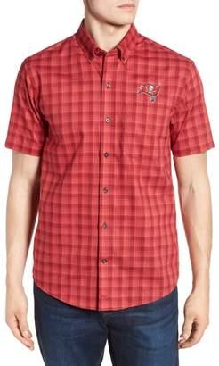 Cutter & Buck Tampa Bay Buccaneers - Fremont Regular Fit Check Sport Shirt