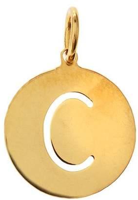 """Sarah Chloe Eva 1-Letter Ampersand Disc Charm, 1/2"""""""