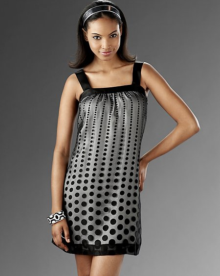 Descending Dot Dress
