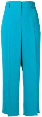 Rochas cropped wide leg trousers
