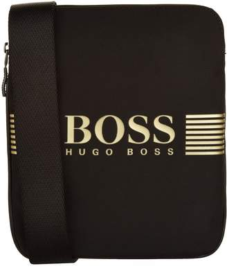 BOSS GREEN Logo Pouch Bag