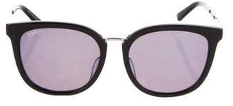 Gucci Mirrored Web Sunglasses w/ Tags
