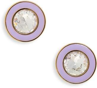 J.Crew Enamel Crystal Stud Earrings