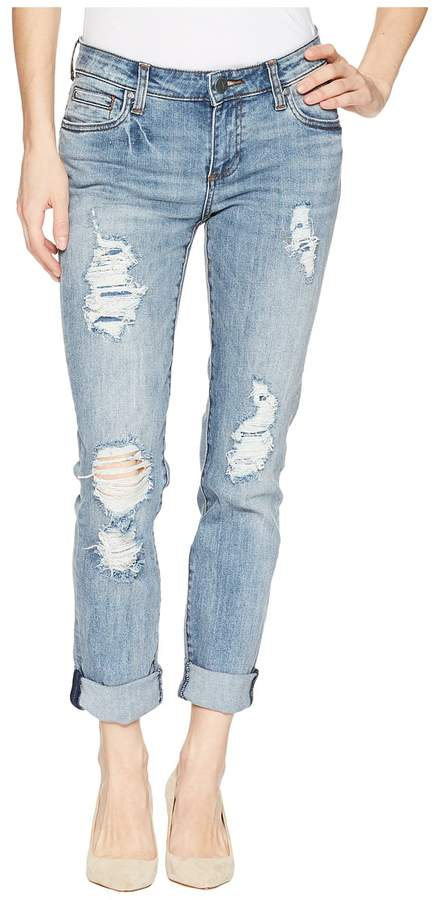 KUT from the Kloth Catherine Boyfriend Five-Pocket in Attract Women's Jeans
