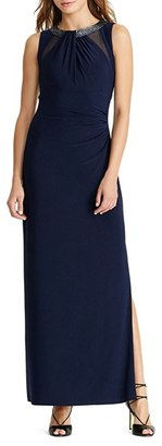 Women's Lauren Ralph Lauren Beaded Gown $190 thestylecure.com