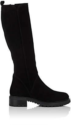 Barneys New York Women's Suede Knee Boots - Black
