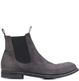 Officine Creative elasticated side ankle boots