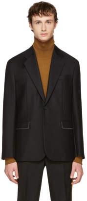 Maison Margiela Black Stitch Detail Blazer