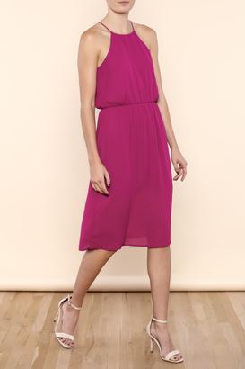 Everly Halter Berry Dress $46 thestylecure.com