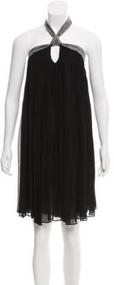 BA&SH Silk Halter Dress w/ Tags