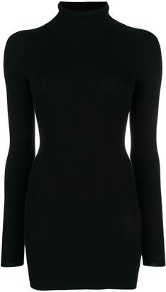 Dolce & Gabbana roll neck ribbed jumper