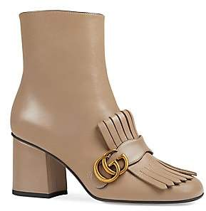 Gucci Women's Marmont Leather Boots