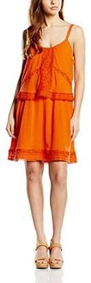 Gat Rimon Women's Short Sleeve Dress - Orange - 8