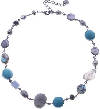 Nakamol Design Freshwater Pearl & Stone Necklace