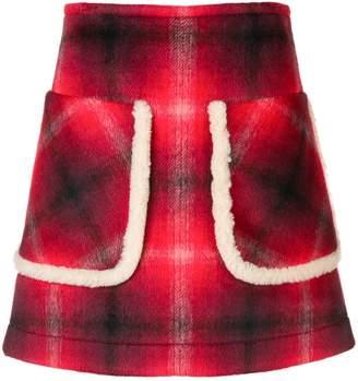 No.21 チェック スカート
