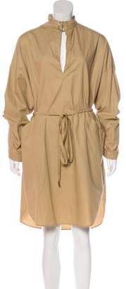 Cédric Charlier Long Sleeve Midi Dress w/ Tags