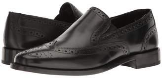 Nunn Bush Norris Wing Tip Double Gore Dress Casual Slip-On Men's Slip-on Dress Shoes